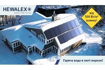 Пласкі колектори Hewalex