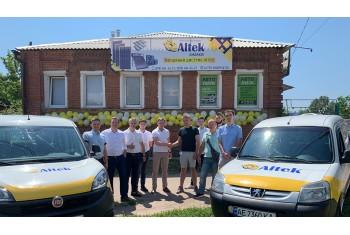 Новий дилер ALTEK Kharkiv та відкриття фірмового магазину
