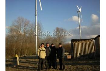 Черкасская обл., частный дом, ветрогенераторная установка