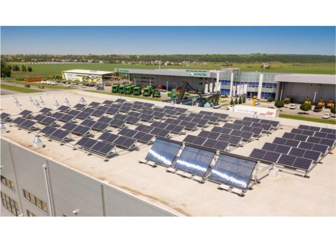 Агротек. Сонячна електростанція для власних потреб та всесезонна геліосистема