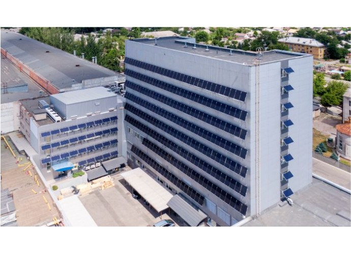 Сонячна електростанція 90 кВт під зелений тариф з затіненням вікон, м. Дніпро