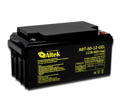 Аккумулятор ALTEK ABT-60-12-GEL
