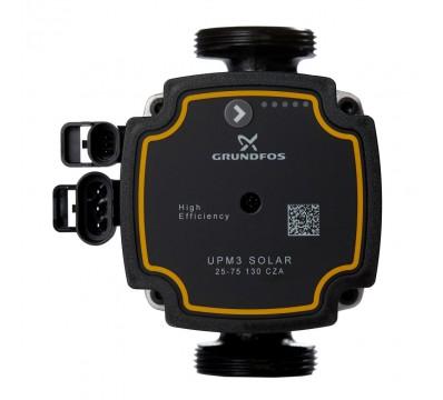 Насос циркуляционный Novasfer UPM3 Solar 25-75 130 CZA Grundfos