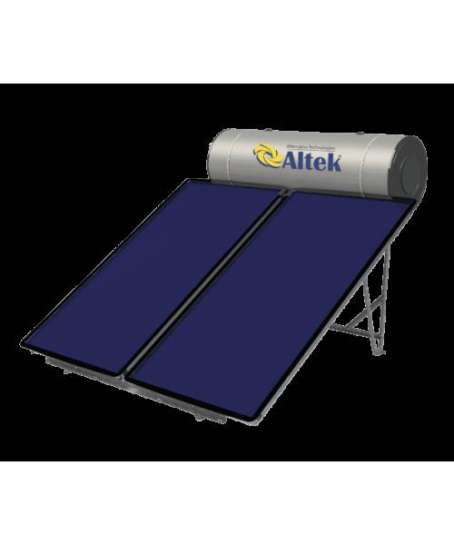 Геліосистема з пласкими колекторами ALBA